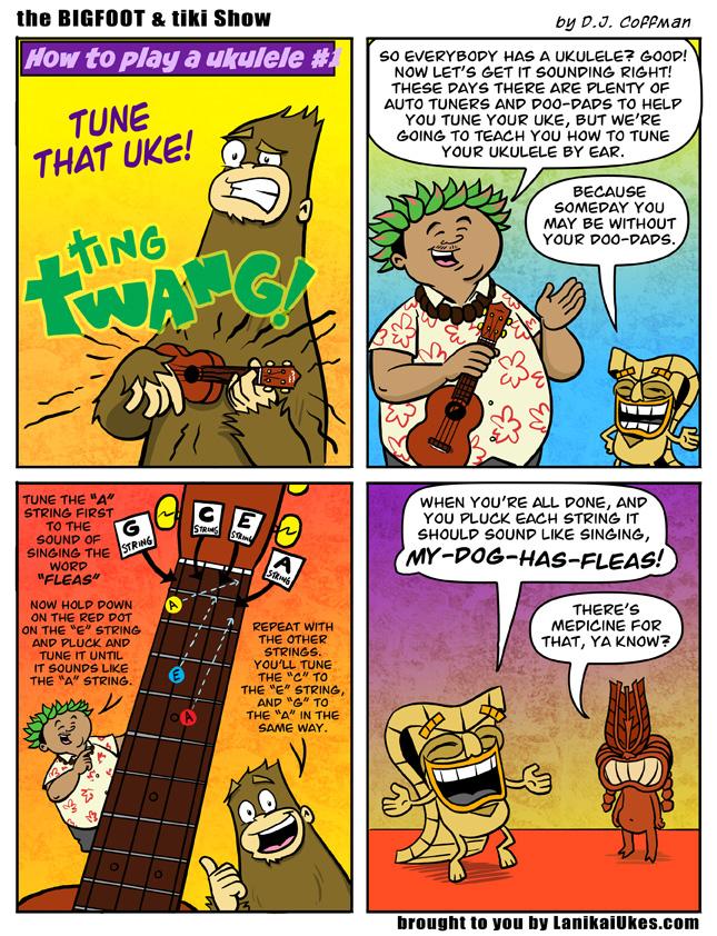 Learn Ukulele #1 How to Tune Your Ukulele